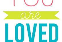 On love...