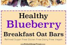 Breakfast oat bars