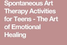 art therapy ~ teens