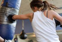 working out / by Amanda Mudd
