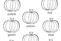 Halloween - worksheets