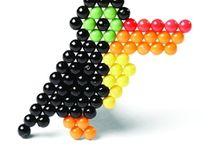 Aqua beads toy
