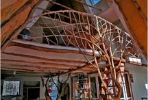 Inspiring homes / We used a lot of natural forms and materials in our home, inspired by homes like this!