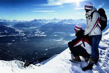 Innsbruck - OlympiaSkiWorld / Innsbruck and it's 9 outstanding Ski-Resorts. http://www.innsbruck.info/ober-unterperfuss-ranggen/erleben/winterurlaub/olympia-skiworld.html