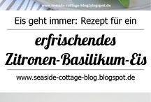 Frau Köhler liebt Eis / am liebsten selbstgemacht