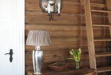 Hytte / Cottage inspirasjon / Hytta vår på Ljøsheim og i vassfaret er under stadig utvikling:-) her legger jeg inn bilder på Ting jeg ser kan gi inspirasjon til innredning/bygging av fjellhyttene