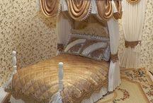 Dolls bedrooms.