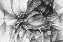 drawings, rysunek artystyczny, rysunek architektoniczny / Rysunki ze szkoły rysunku Koletek, oraz inne