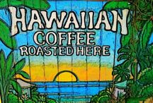Hawaiian Coffees / Are you a coffee fan.  We definitely are and the great news is Hawaii serves up some of the best flavored coffees in the world.  Tasteful and smooth from being grown in rich volcanic soils all over the Hawaiian Islands.  If you're a coffee fan enjoy.