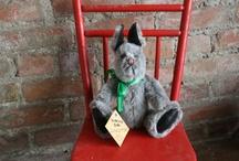 Folk Art Bunnies from the Stearnsy Bears