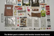 Army rations / Dry rations armies of different countries.