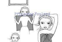 Nouer foulard en paréo