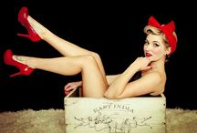 Pinup photoshoot ideas / by Christine Stoeber
