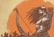 Mahabharat Sketch