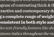 Type Categories: Slab Serif