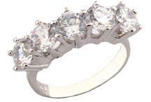 Gümüş Bayan Yüzükleri