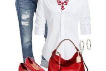Cute outfits. / How I'd like to dress.