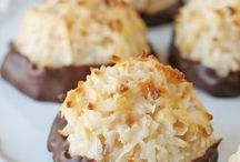 Coconut maccaroons