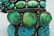 Turquoise The Color Of My Soul / Turquoise stones are any shade between blue and green. / by Cindy Kleypas