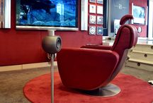 Creation TV Chair / The Creation TV Chair is hand-crafted using the finest materials available with a choice of the softest Italian leather to provide the most luxurious seating experience you will ever have.