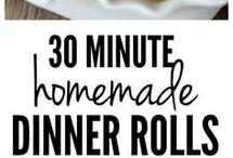 bread rolls  30mins