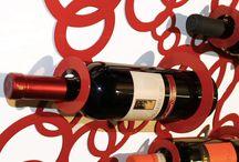 Portabottiglie di vino / Portabottiglie di vino - Espositori Vino - Portabottiglie da parete - Portabottiglie da tavolo