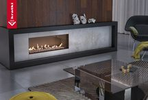 Fireplace insert - inspiration