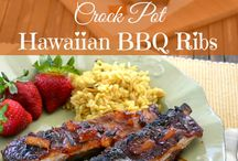 Hawaiilian stylr kalbi ribs