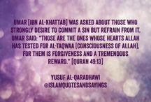 Ihsaan/Taqwa/Consciousness of ALLAH