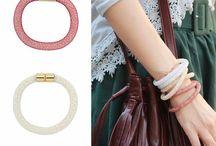 Pulseiras & Braceletes / Pulseiras da moda ;)