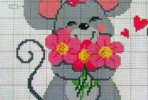 c2c/ cross stitch