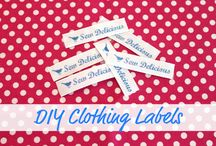 DIY clothing lables
