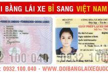 Đổi bằng lái xe Bỉ sang Việt Nam