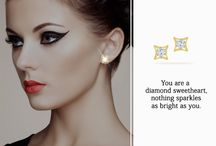 Beautiful with diamonds