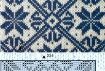 Stricken: Fair Isle, Estonian, Nordic, Baltic, Islandic & other traditional Folk knitting Patterns