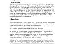 EE4414 Multimedia Communication Systems II