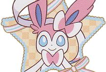 ♡Sylveon♡ / Sylveon is my number 4 favourite pokemon and my favourite eeveelution. She is sooo cute! ♡