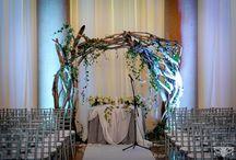 Wedding Arbors, Arches, Chuppahs / by Renaissance Floral Design