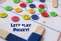 hockey crafts for preschoolers