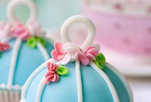 Cakes and cupcake
