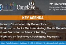 eTailing India Conclave, Ahmedabad / The eTailing India Conclave at Ahmedabad carries forward eTailing India's vision of spreading knowledge and awareness about eCommerce and it's components in India and abroad. The Conclave at Ahmedabad looks at 3 key industry segments of Jewellery, Handicrafts and Furniture & Home Furnishings - and helps the key retailers and players extend their reach through the online channel.
