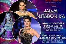 What's the best way to spend a relaxed Sunday at home?! See gorgeous Bollywood ladies sizzle the ramp with #JalwaSitaronKa #IIJW2014 — with Sumit Sawhney