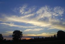 clouds,chmury : moje zdjęcia / Zachód słońca