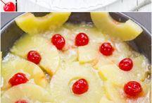 pečené dezerty