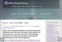 Miss Geschick(e) / Tanyas persönlicher Blog