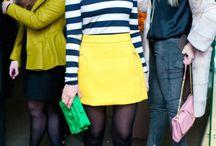 {Fashion} Falda amarilla