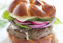 Burgers / by Sugar-Free Mom | Brenda Bennett