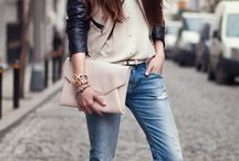 look amazing with this leather jacket