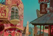GHIBLI BACKGROUNDS