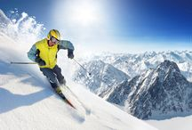 Ski / Imagine yourself whizzing down the slopes?  How about our snowy inspiration!
